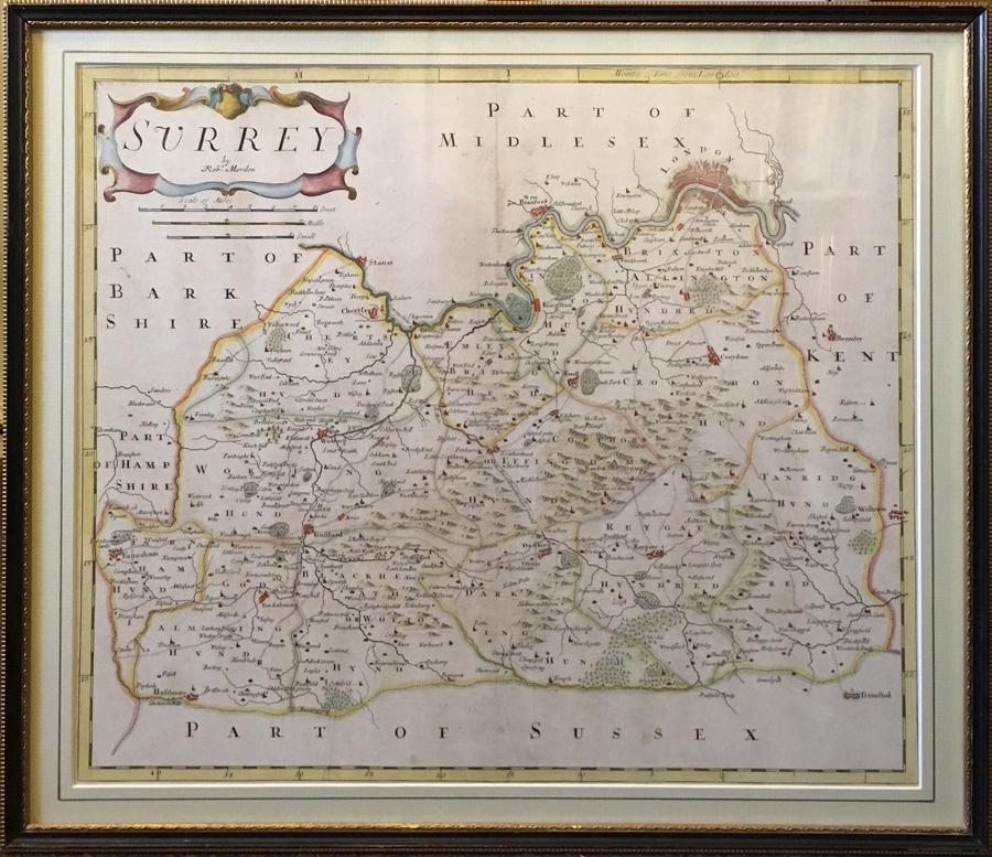Antique Maps & Globes