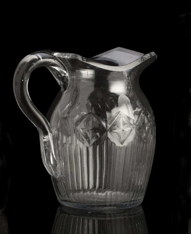 Antique glass & glassware