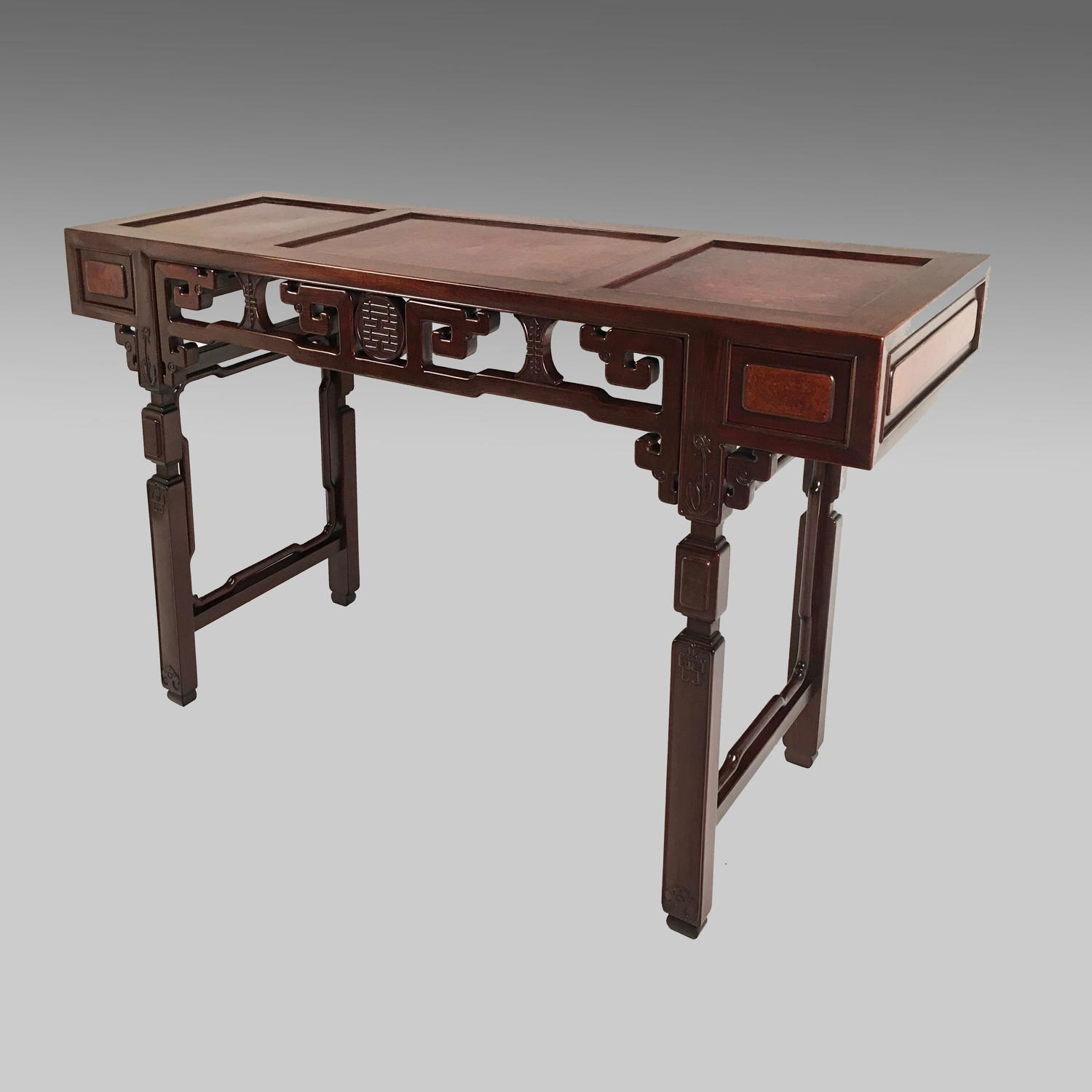 19th century Chinese huanghuali altar table