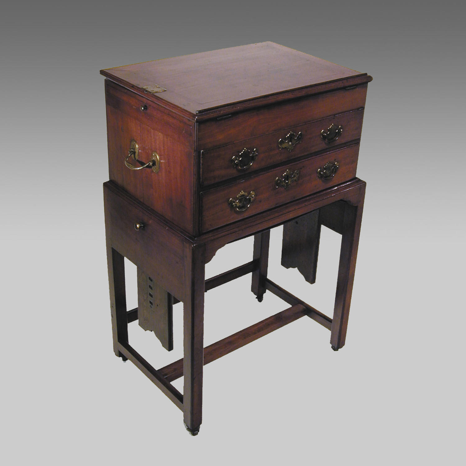 18th century mahogany artist's or architect's desk
