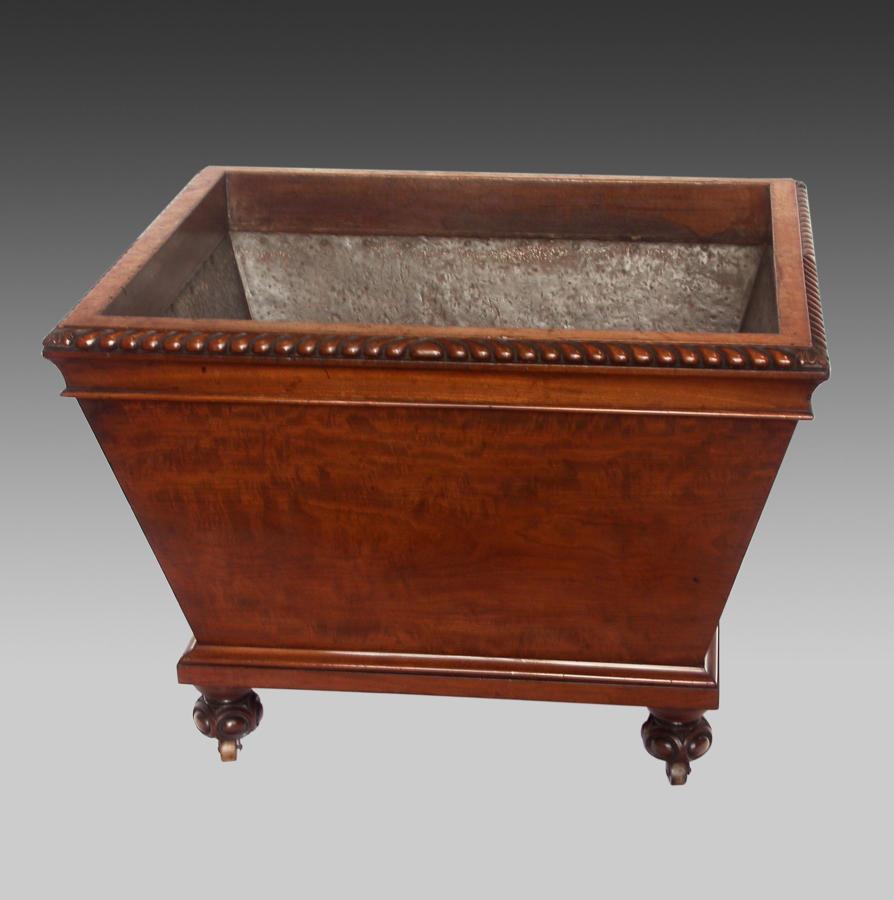 19th century mahogany wine cooler