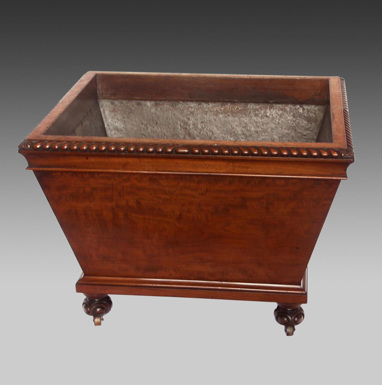 19th century mahogany wine cooler