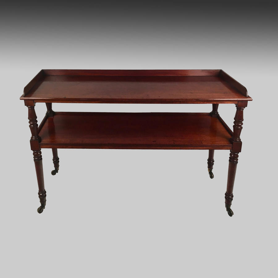 19th century Regency mahogany buffet