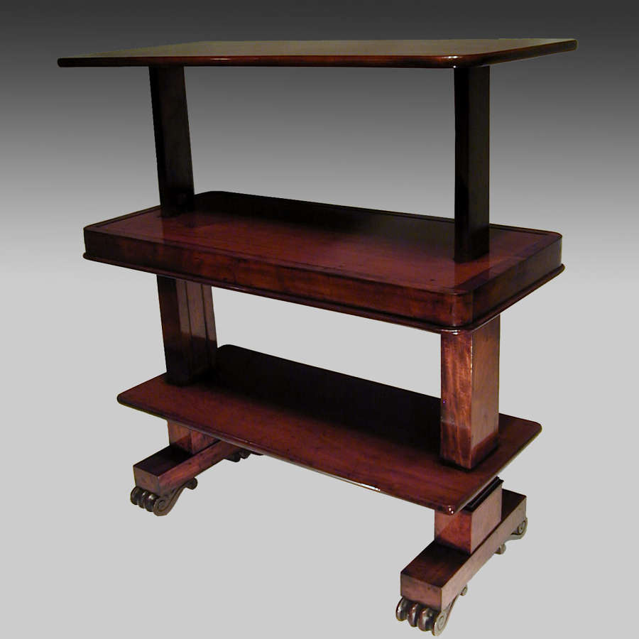 Regency mahogany metamorphic buffet