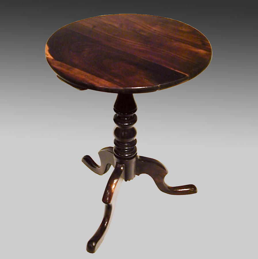 Scottish laburnum tripod table