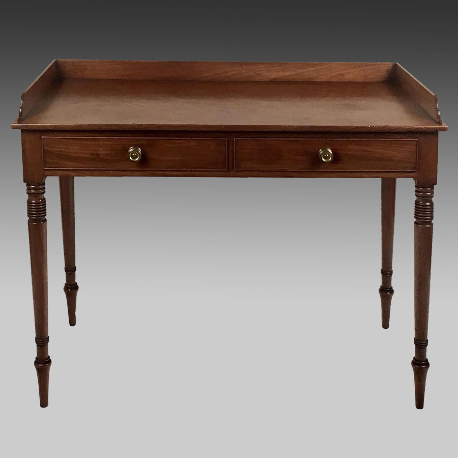 Georgian mahogany side table