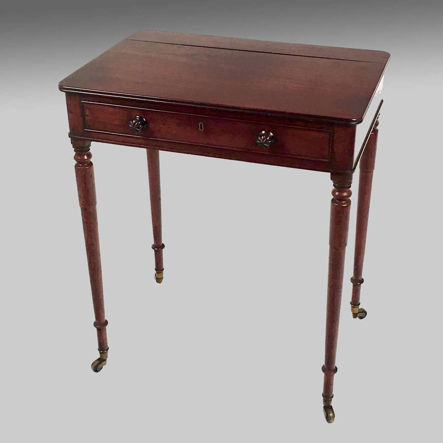 Georgian mahogany chamber or writing table