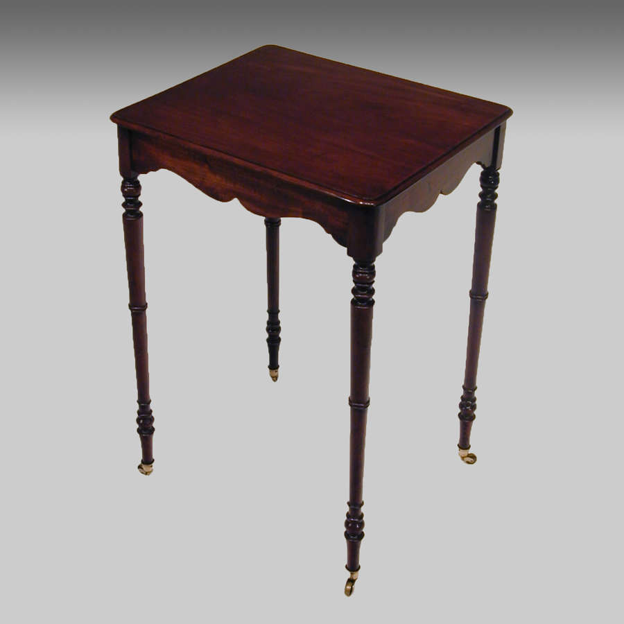 Small Georgian mahogany centre table