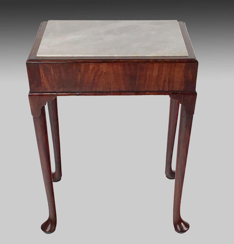 Georgian padouk pier table