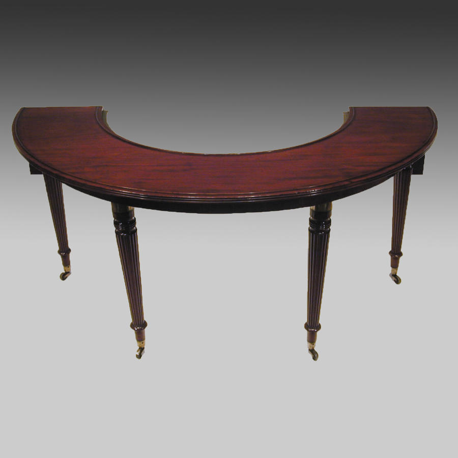 Georgian mahogany wine or hunt table