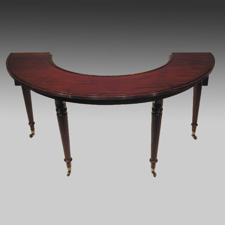 Georgian mahogany wine or hunt table
