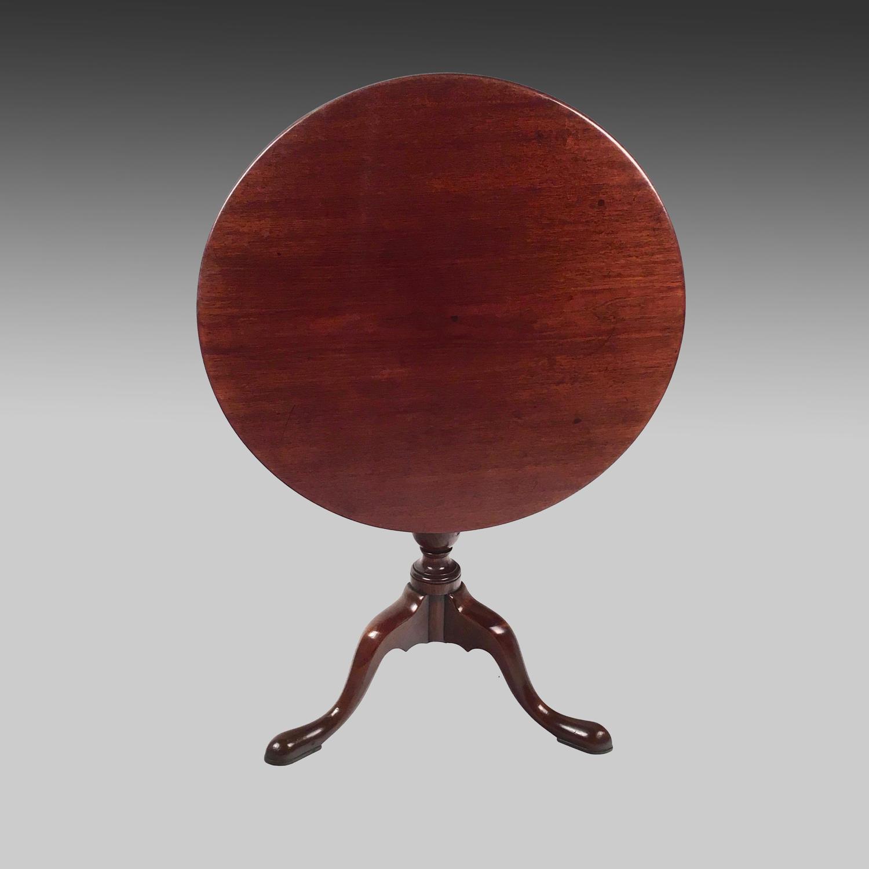 Georgian walnut tripod table