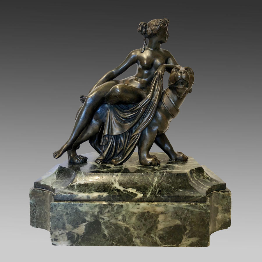 Grand Tour bronze 'Ariadne on the Panther'