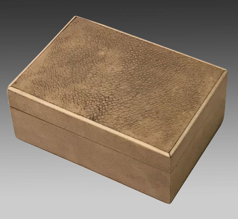 Art Deco shagreen box