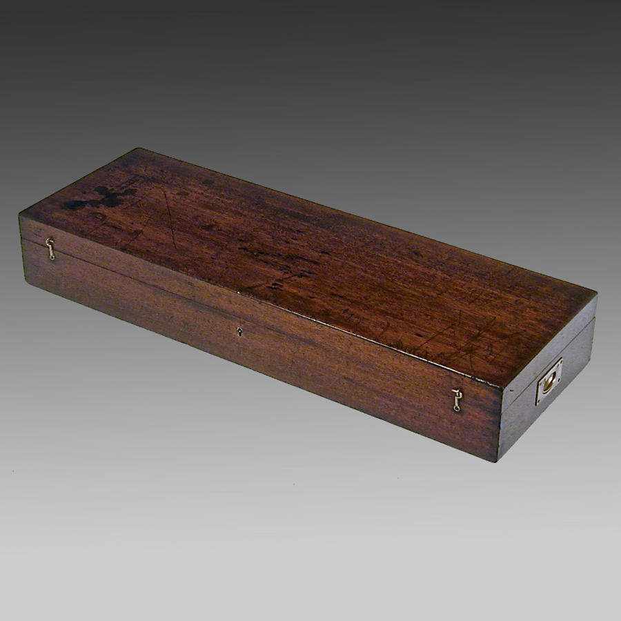 Georgian mahogany box