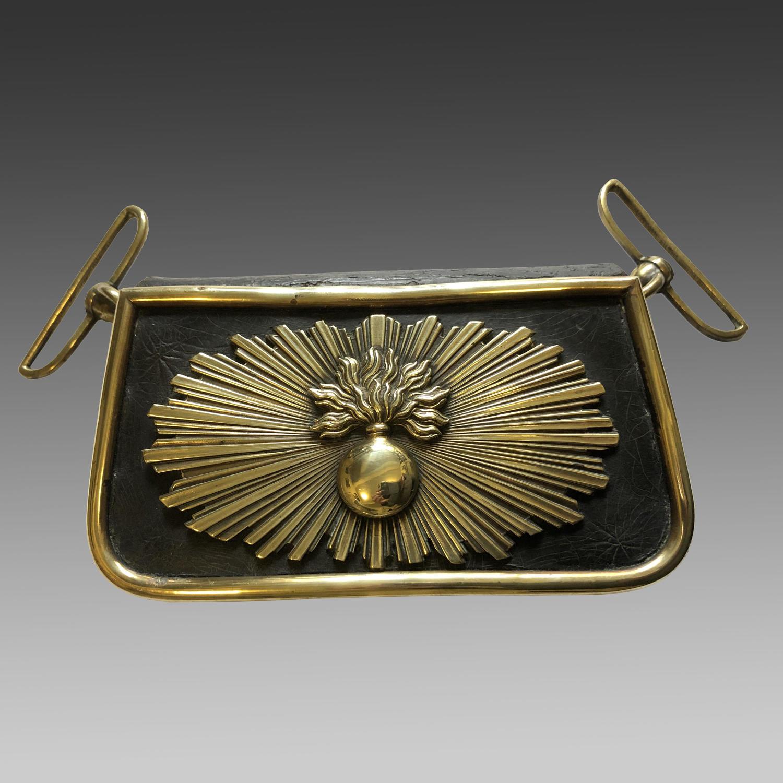 Rare 19th century cartouche pouch