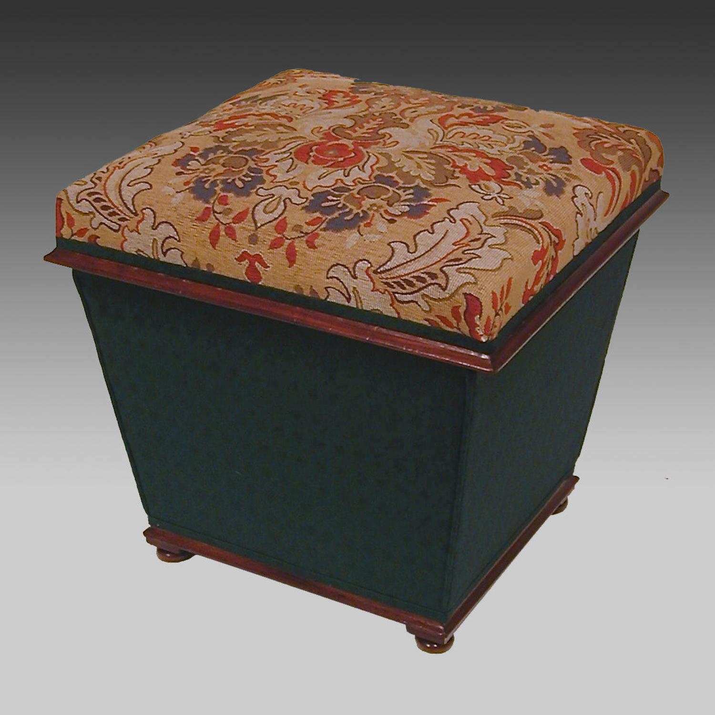 Mid 19th century Ottoman stool
