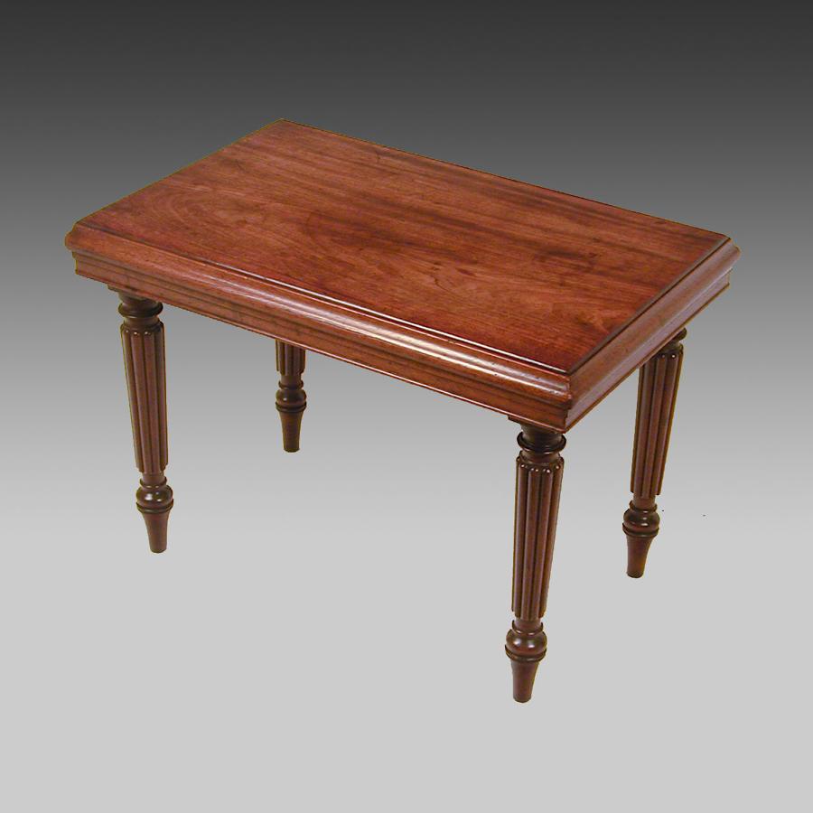 Late Regency mahogany bidet