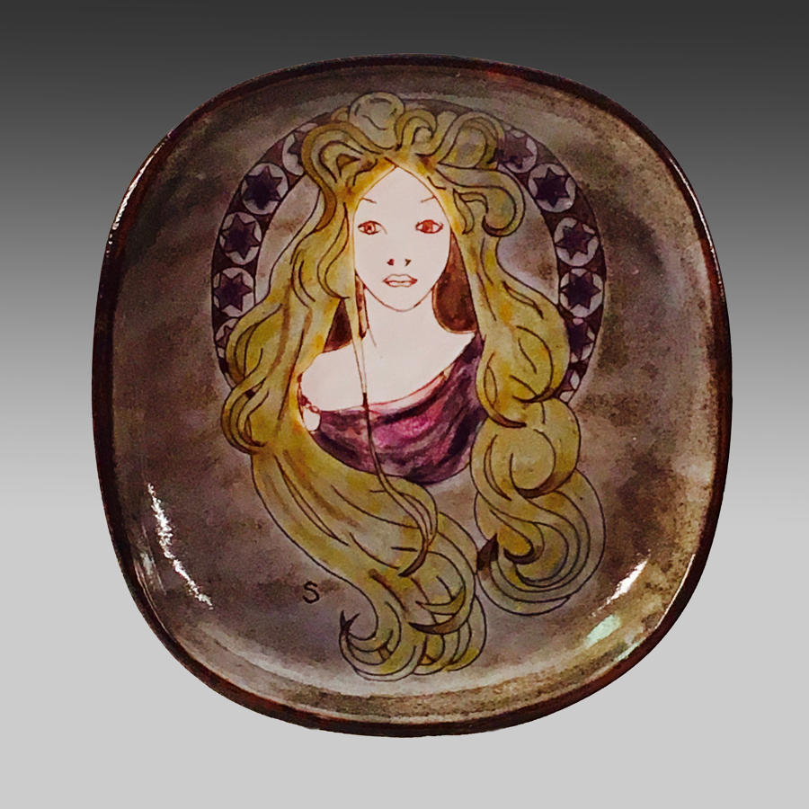 Chelsea Pottery wall plaque