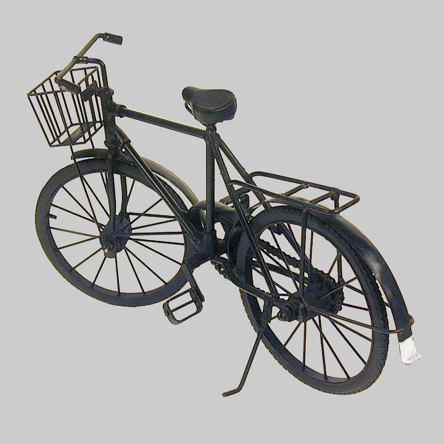 Vintage scratch built scale model of a bicycle
