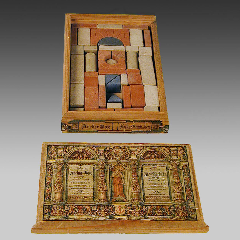 19th century German Richter's building blocks