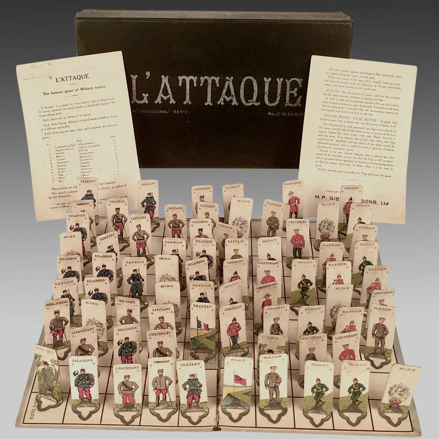 Vintage L'Attaque board game