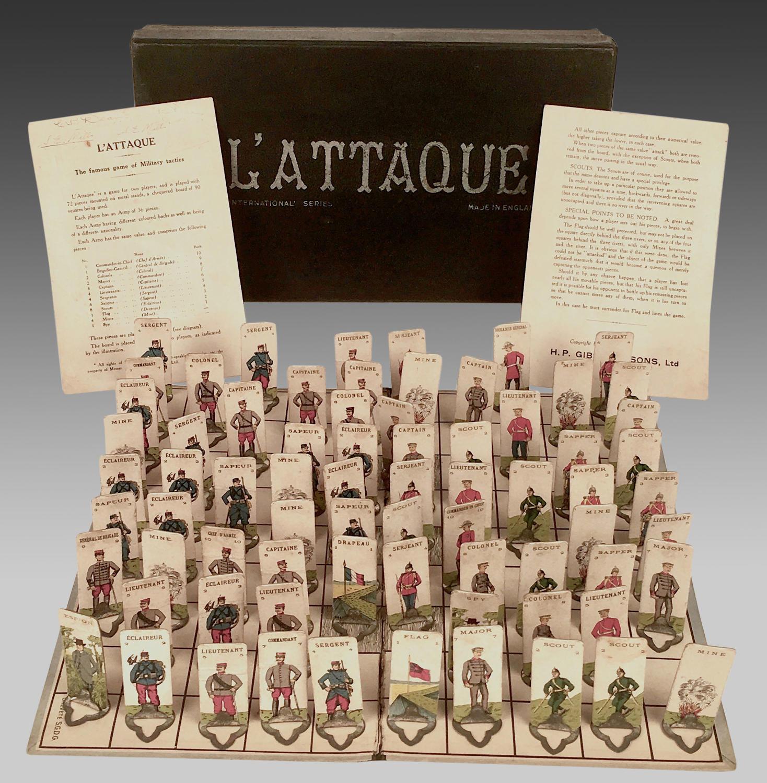 Vintage L'Attaque board game