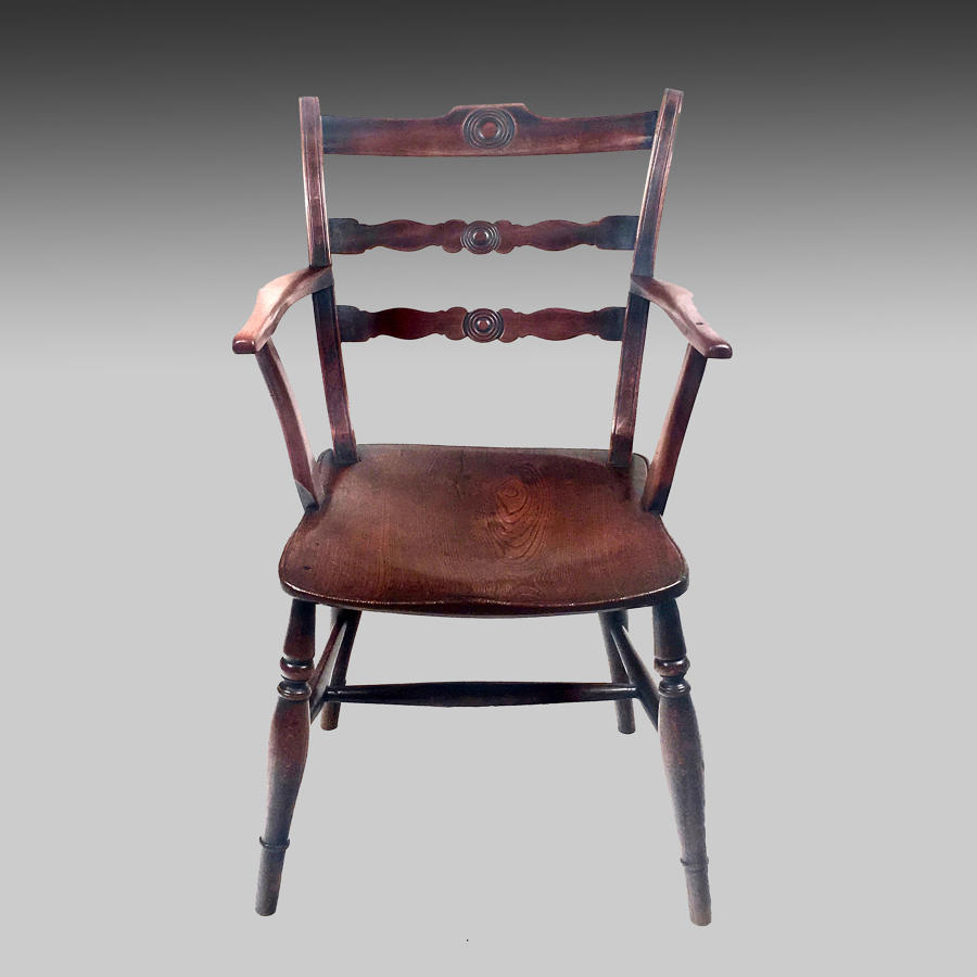 19th century Windsor armchair