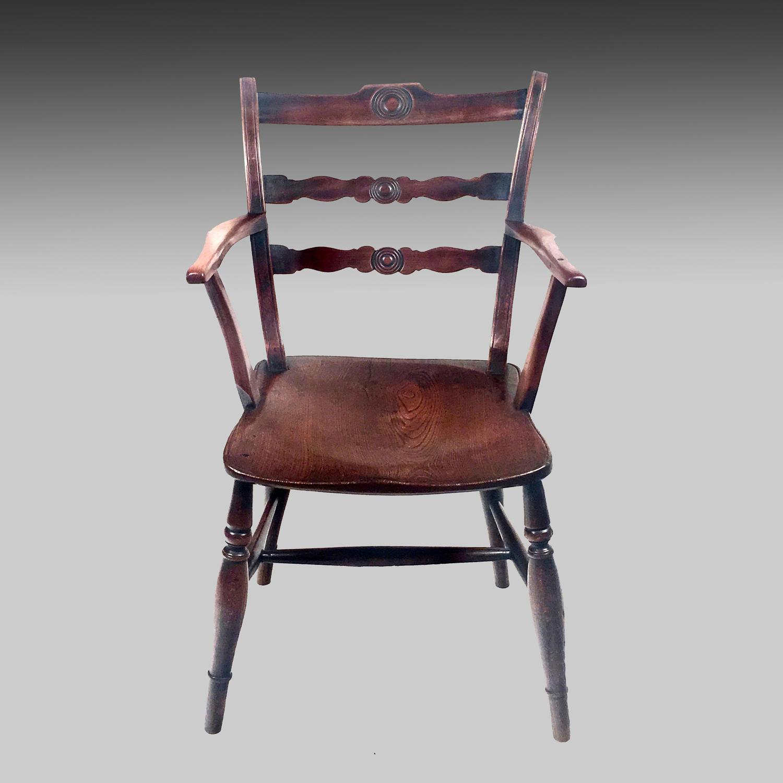 19th century Windsor armchair