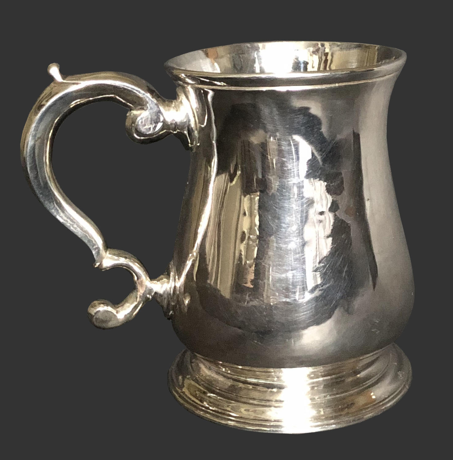 Antique George 11, silver tankard