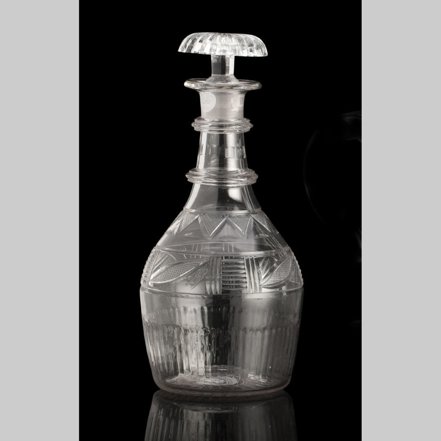 Georgian glass decanter