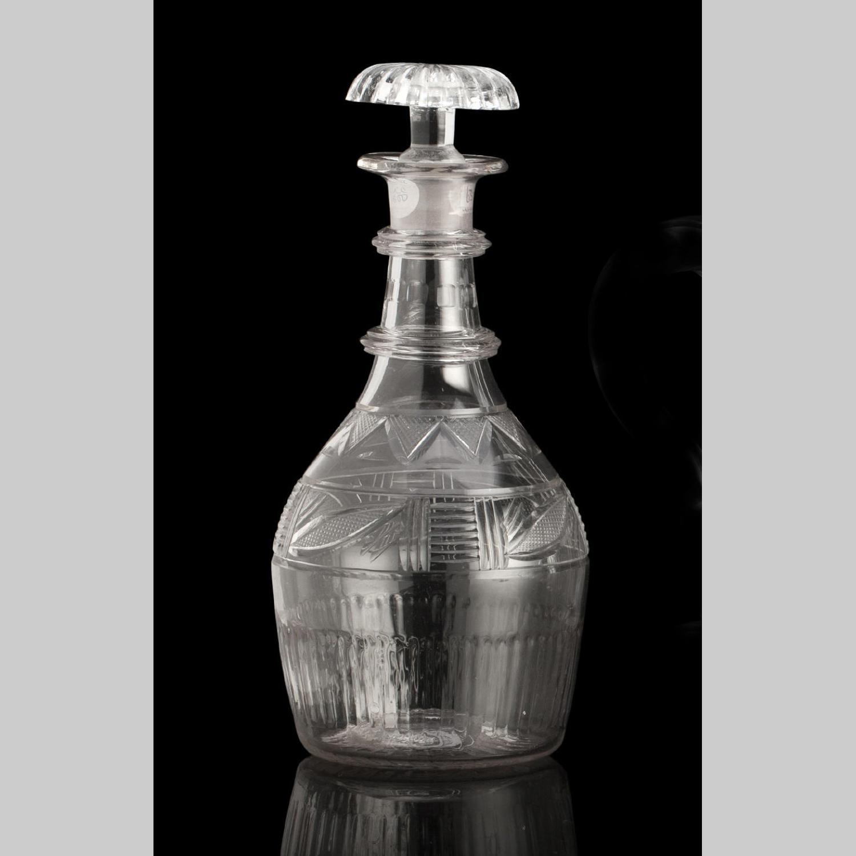Georgian glass decanter