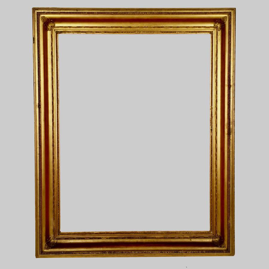 Regency caveto moulded gilt frame