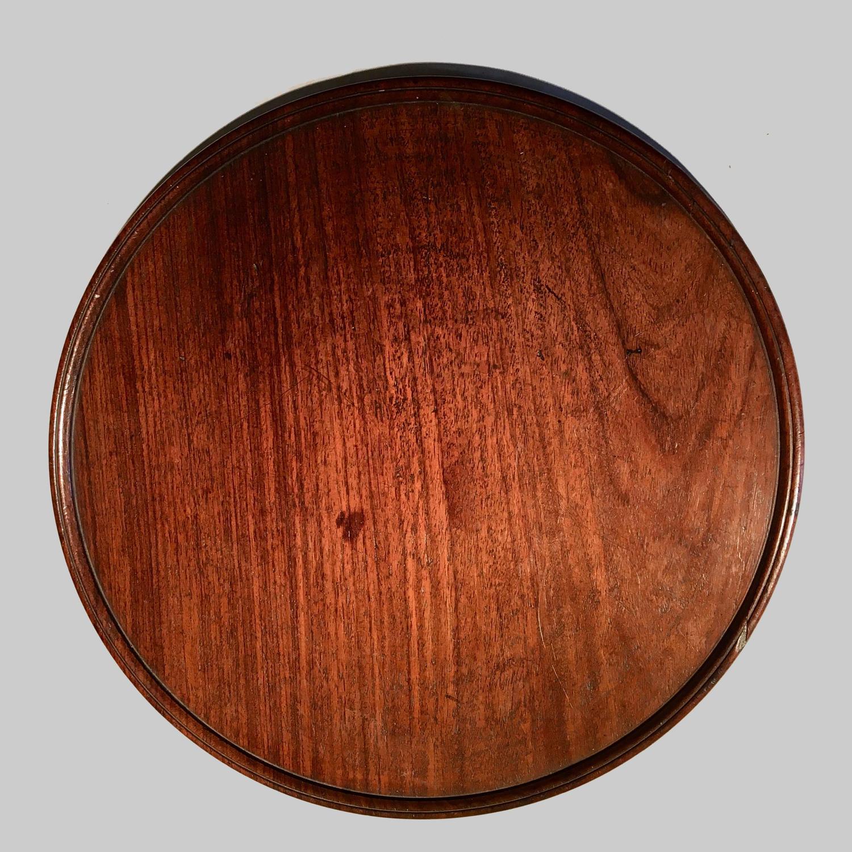 Georgian mahogany tray