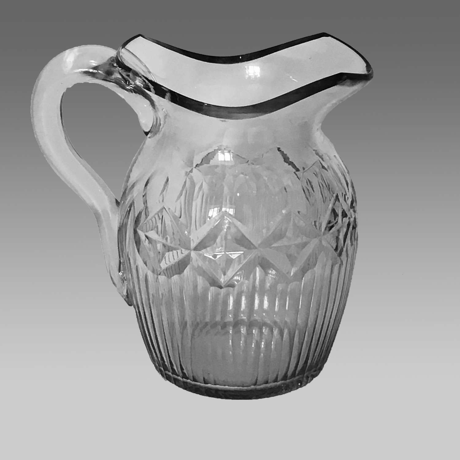 Irish Georgian water jug
