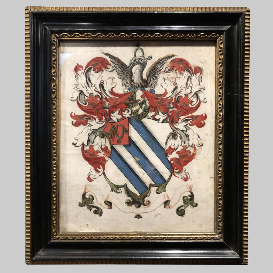 18th century Armorial coat of arms