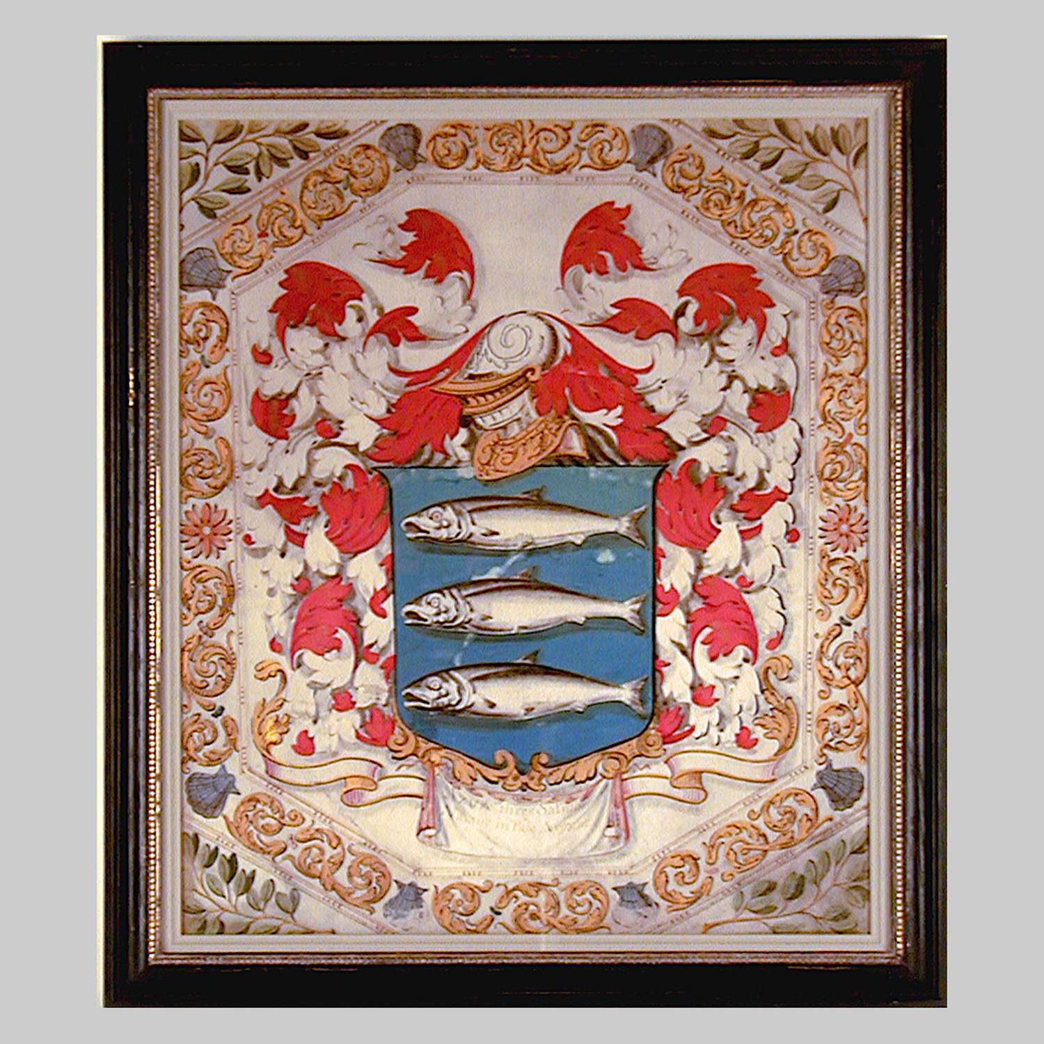 18th century Armorial Arms of the Sambrooke Family