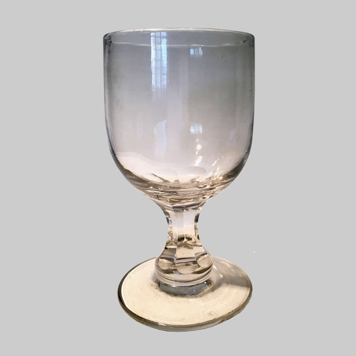 Antique wine goblet