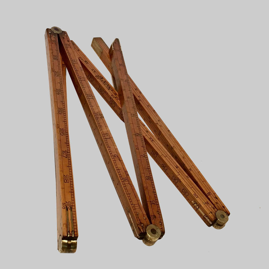 19th century spirit merchants' boxwood dipstick