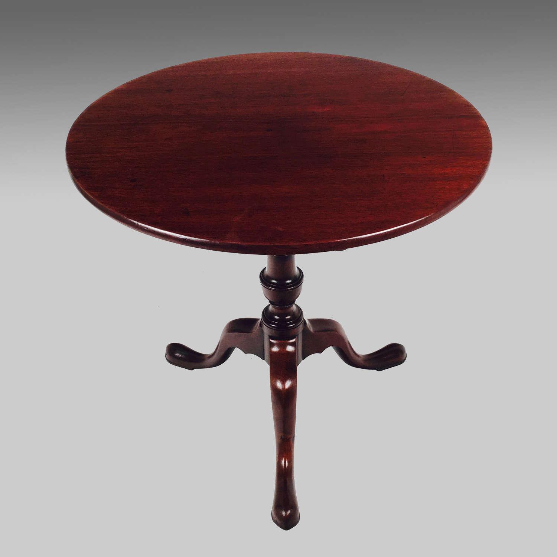 18th century Georgian walnut tripod table