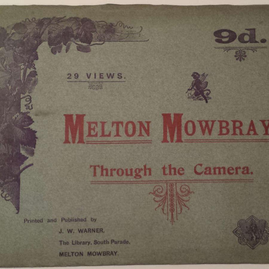 Melton Mowbray Through the Camera