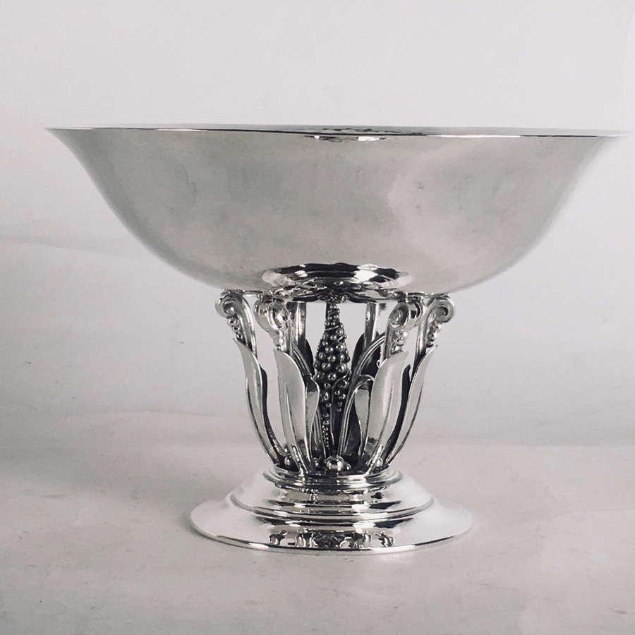 Georg Jensen, Art Nouveau silver bowl