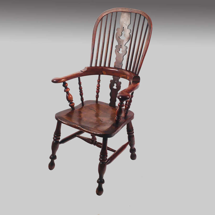 Yorkshire broadarm Windsor chair