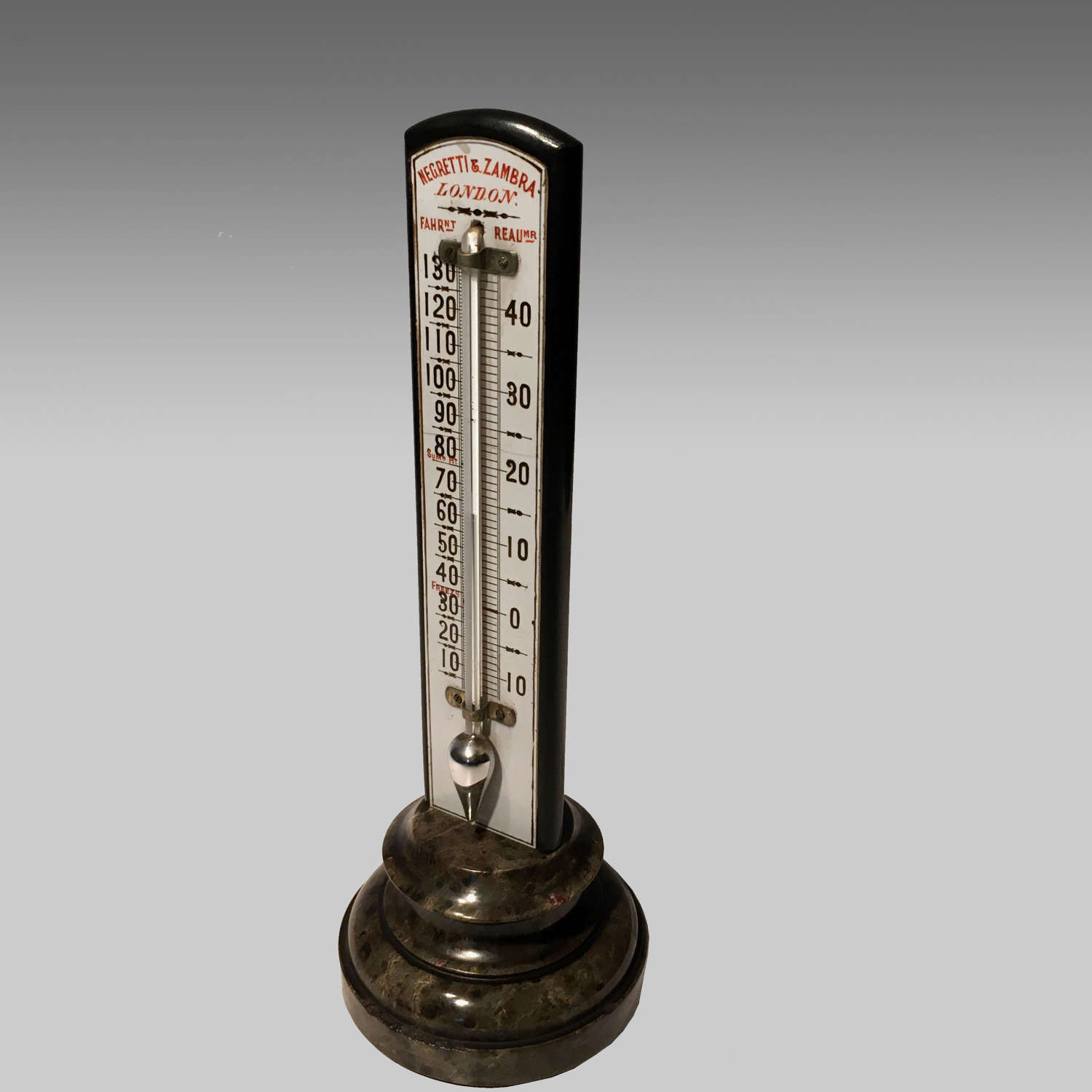 19th century Negretti and Zambra thermometer