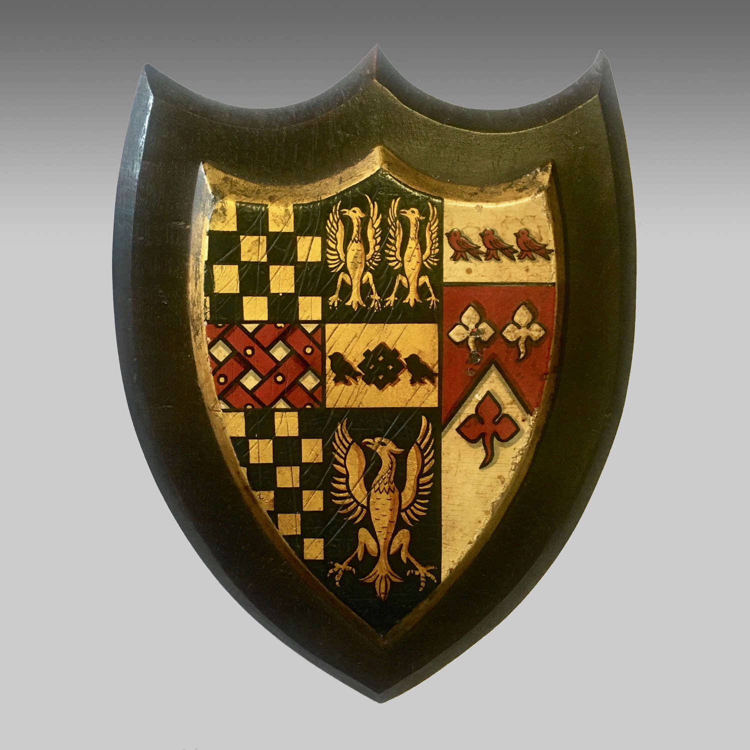 Armorial Shield, the crest of Bedford School