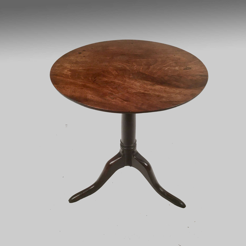 George 11 mahogany tripod table