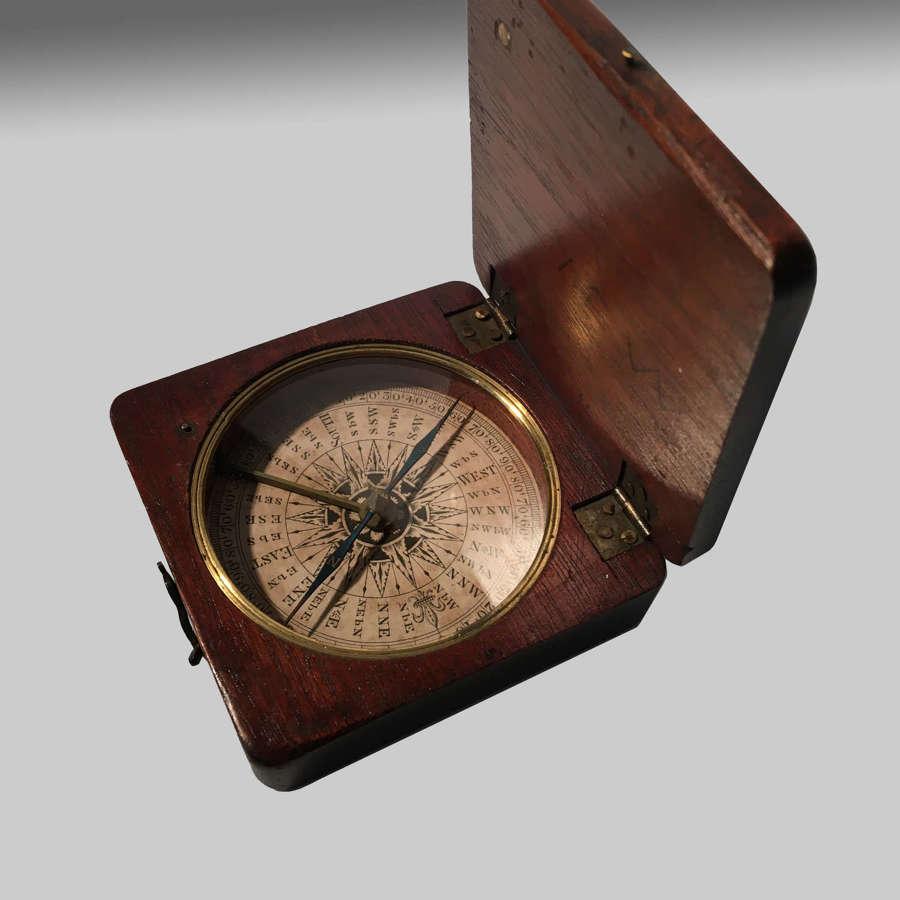 Georgian pocket compass