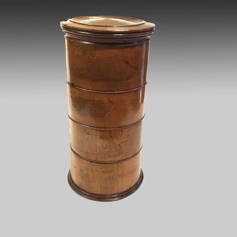 Georgian boxwood spice tower